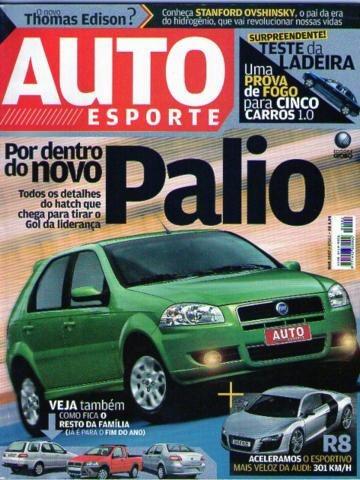 Auto Esporte 502 * Palio * Audi R8 * Siena