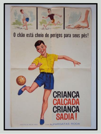 Alpargatas - Poster Anos 70 - F( 212)