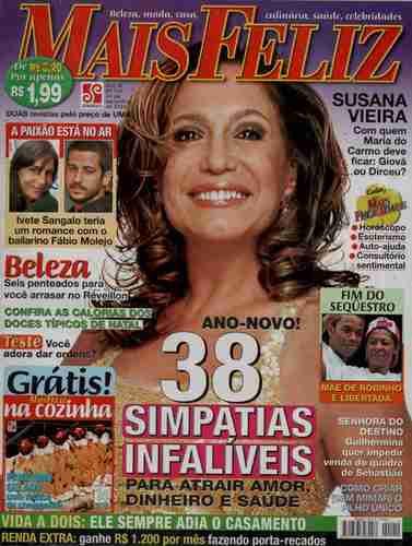 Mais Feliz 2004 Suzana Vieira Ivete Sangalo Caetano Veloso