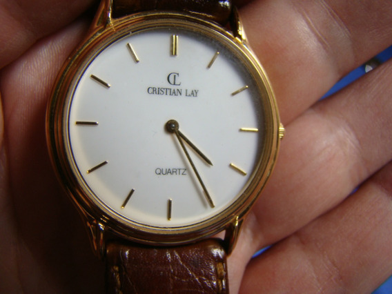 Relógio Cristian Lay Um Clássico Que Nunca Sai De Moda!!!