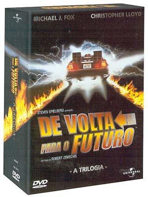 De Volta Para O Futuro 3 Dvds Originais