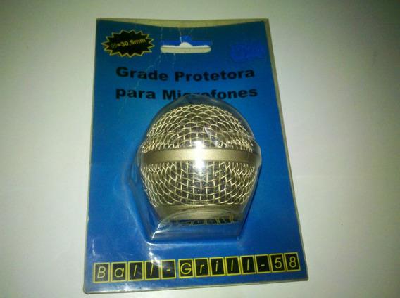 Grade Protetora Microfones 30,5mm Ball Grill 58.