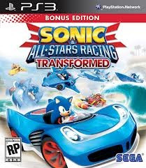 Sonic Sega All-stars Racing Transformed Lacrado Para Ps3