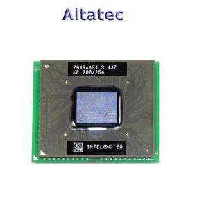 Cpu Processador Mobile P3 700 Mhz Pentium Iii Sjl4jz