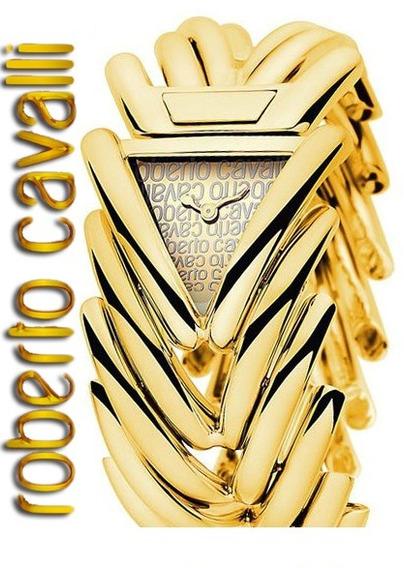 Roberto Cavalli Relogio Feminino Spike Gold R7253172500