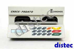 Maquina De Cheque Chronos Acc 100 Ou Acc 300