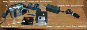 Sony - Mavica Fd90 - Somente Venda Do Conjunto