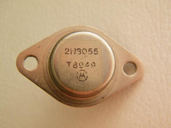 Transistor Potencia 2n3055 Motorola Lote Antigo.