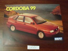 Folder Cordoba 99/ Ibiza Cupra 99/ Cordoba Vario 99 - R 3820