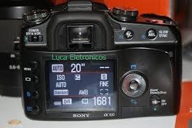 Display Sony Alfa A100