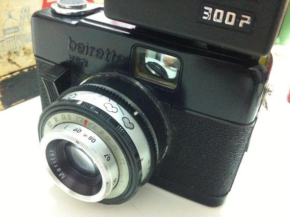 Câmera Analógica Alemã Beier Beirette Vsn Black 35mm