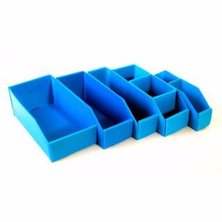 Caja Repuesto Plana Plastico Multiuso N°6 30x6x11cm Pack X50