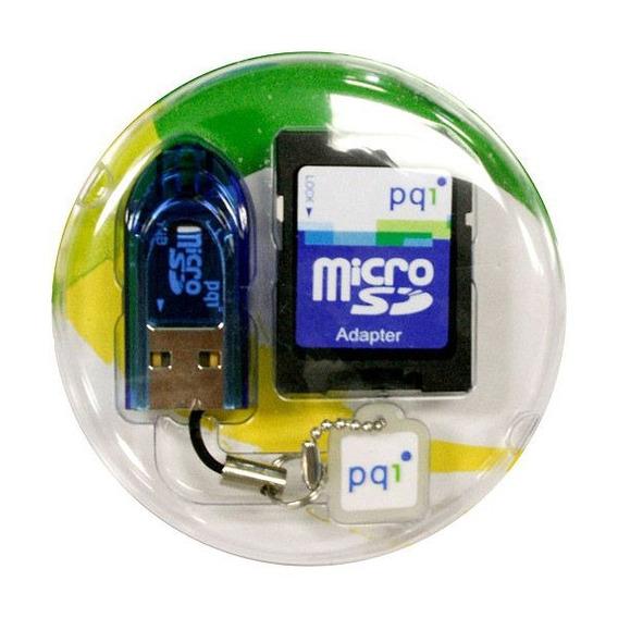 Micro Sd +leitor S721 Funciona Como Cartão Sd E Pen Drive