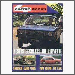 Quatro Rodas Nº 142: Chevette - Volks Tl - Fittipaldi - 1972