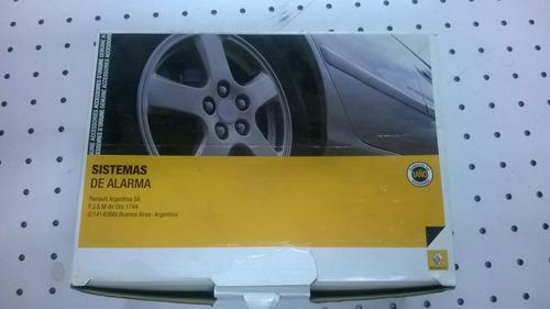 Alarma Renault Duster Original.