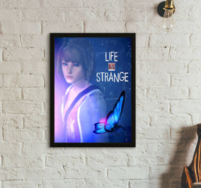 Quadro Gamer Life Is Strange (30x40)