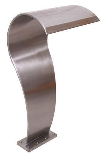 Imagem 1 de 4 de Cascata Fonte Em Aço Inox Para Piscina Tipo Naja