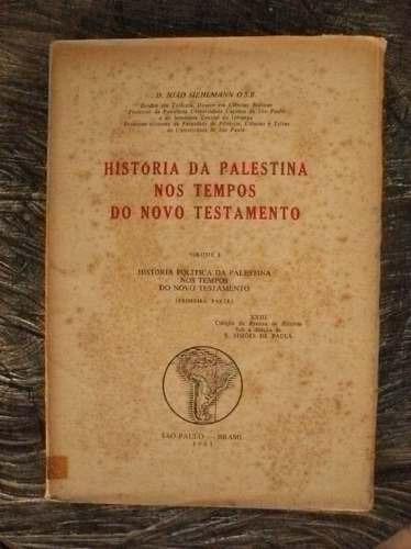 História Da Palestina Nos Tempos Do Novo Testamento - 1961