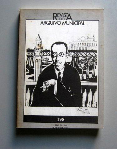 Revista Do Arquivo Municipal São Paulo - Mario De Andrade