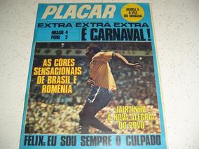 Revista Placar 14 Pelé Seleção Brasil As Feras Da Copa 1970