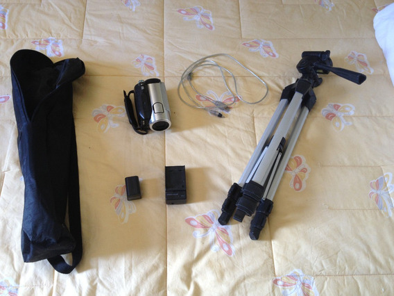 Filmadora Sony Hcr Hc5 Usb 1080 Hd Memory + 1 Minidv + Tripe