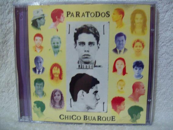 Cd Original Chico Buarque- Paratodos
