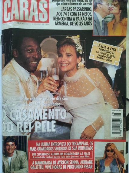 Revista Caras O Casamento Do Rei Pelé