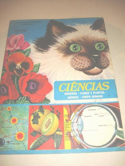 Álbum De Figurinhas Ciências. Editora Vecchi S/a. Ver Foto!