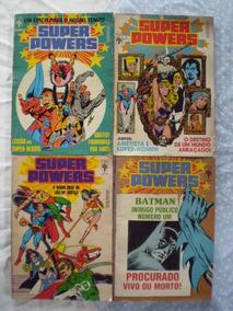 Super Powers! Vários! Editora Abril! 1986! R$ 15,00 Cada!