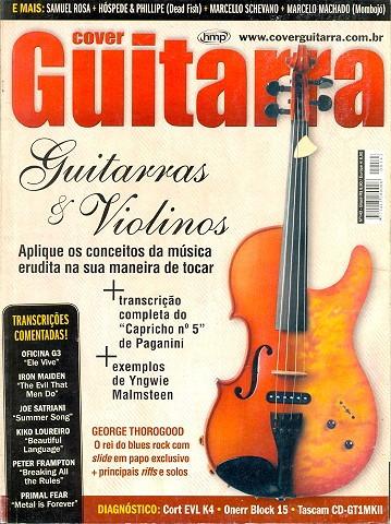 Cover Guitarra 143 - Yngwie Malmsteen