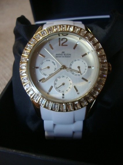 Relógio Anne Klein 10/9316svwt Swarovski Multifuncional Novo