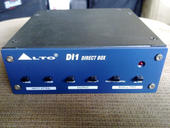 Direct Box Alto Professional Dl1 - Channel Direct Box-zerado
