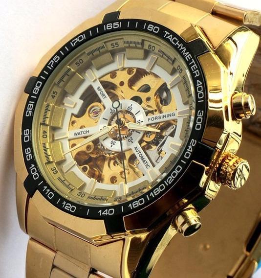 Relógio De Pulso Automáticoskeleton