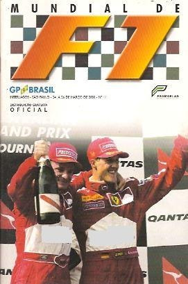 Mundial De F1 Nº 11 Gp Brasil 2000 Senna Schumacher