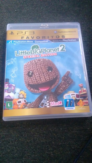 Little Big Planet 2 Special Edition Ps3 Original