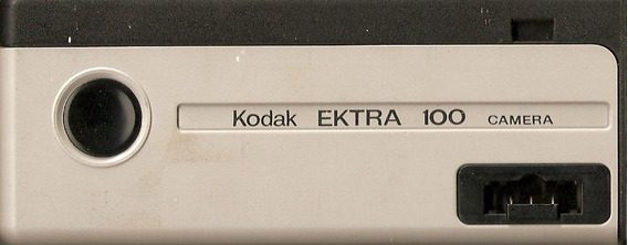 Câmera Fotográfica Kodak Ektra 100 - 1983