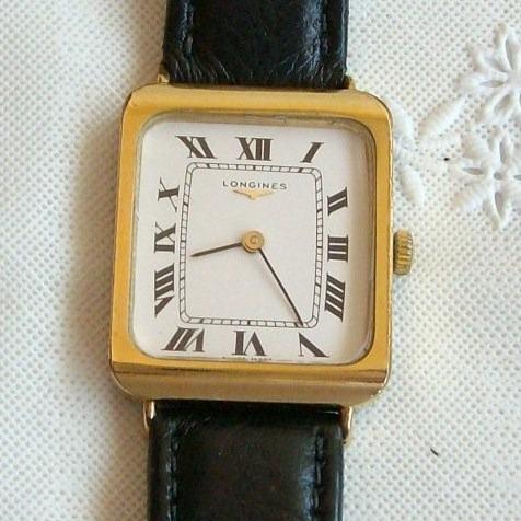 Relógio De Pulso Feminino A Corda Longines - Colecionador!!