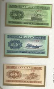Lote De 10 Billetes De China Entre Los Años 1953 Y 1990