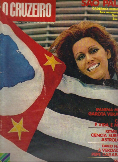 Revista O Cruzeiro Nº 5- 2 De Fevereiro 1972-rio De Janeiro