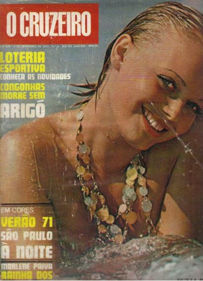 Revista O Cruzeiro Nº 5- 3 De Fevereiro 1971-rio De Janeiro
