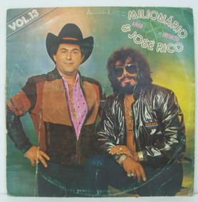 Lp Milionário E José Rico - Vol. 13 Amor Infinito - 1983 -
