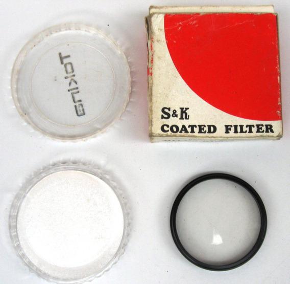 Filtro Uv Ultra Violeta - S&k - 52mm -usado