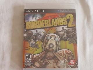 Playstation 3 : Borderlands 2 Novo Lacrado Mídia Fisica