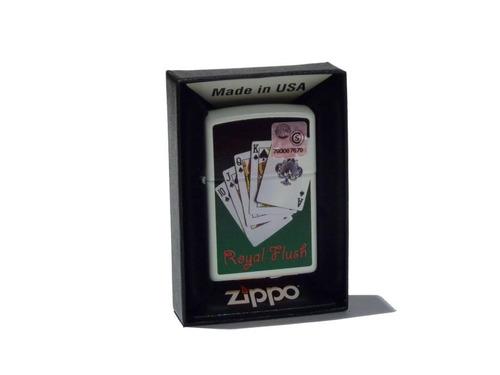 Imagen 1 de 2 de Encendedor Zippo Royal Flush Made In Usa 28914