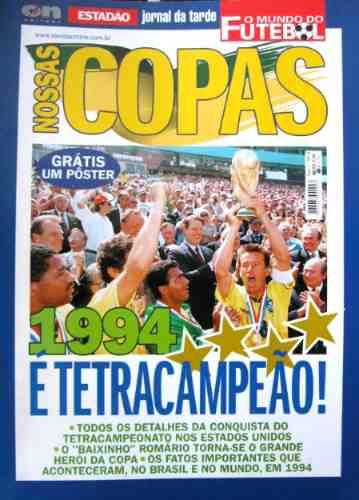 Copa Do Mundo 94. Nossas Copas. On Line Editora. Estadão!