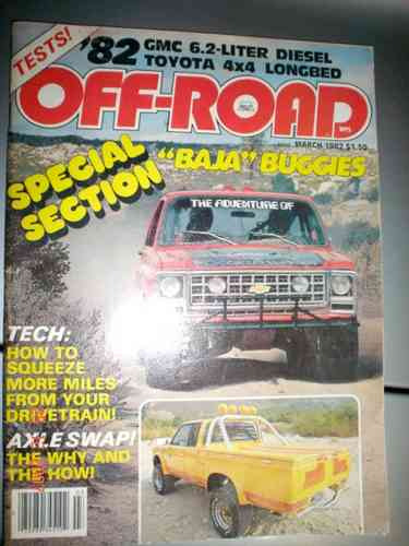 Revista Off Road Eua Testes Pickup Rally Gmc Toyota Baja 4x4