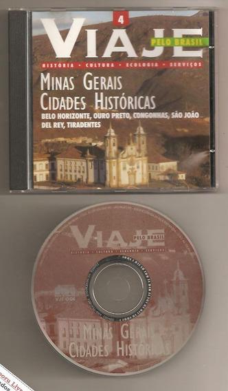 Cd-rom Viaje Pelo Brasil 4 - Minas Gerais Cidades Históricas