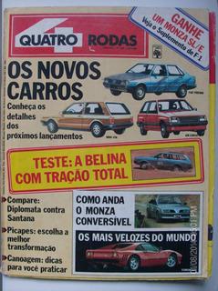 Revista Quatro Rodas N- Corsa Monza Ferrari Diplomata Santa