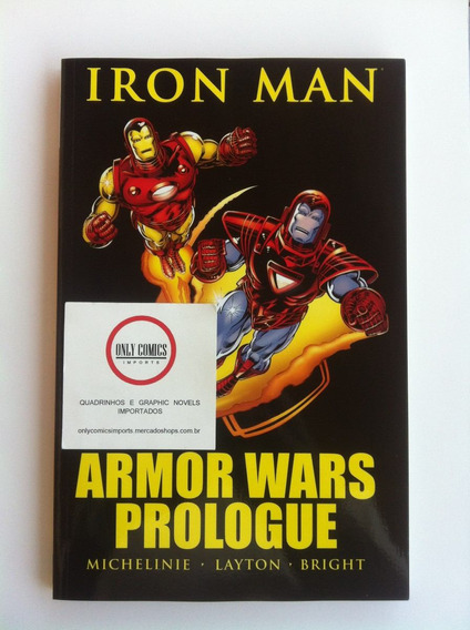 Iron Man Armor Wars Prologue Tpb (2010) Marvel