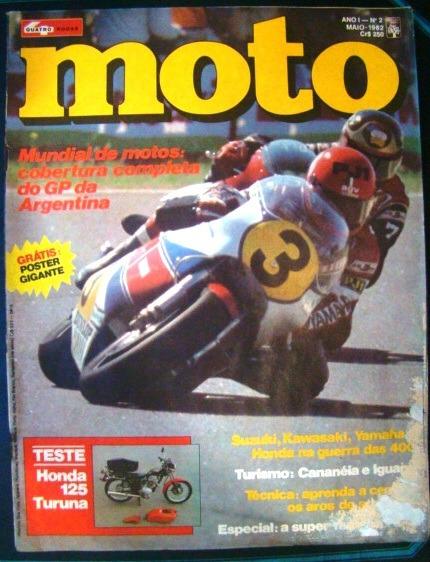 Revista Moto Números 2, 9 E 34